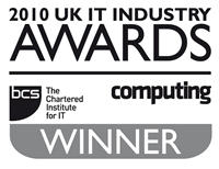 UK IT Awards 2010 Winner