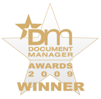 Document Manager Awards 2009 Winner